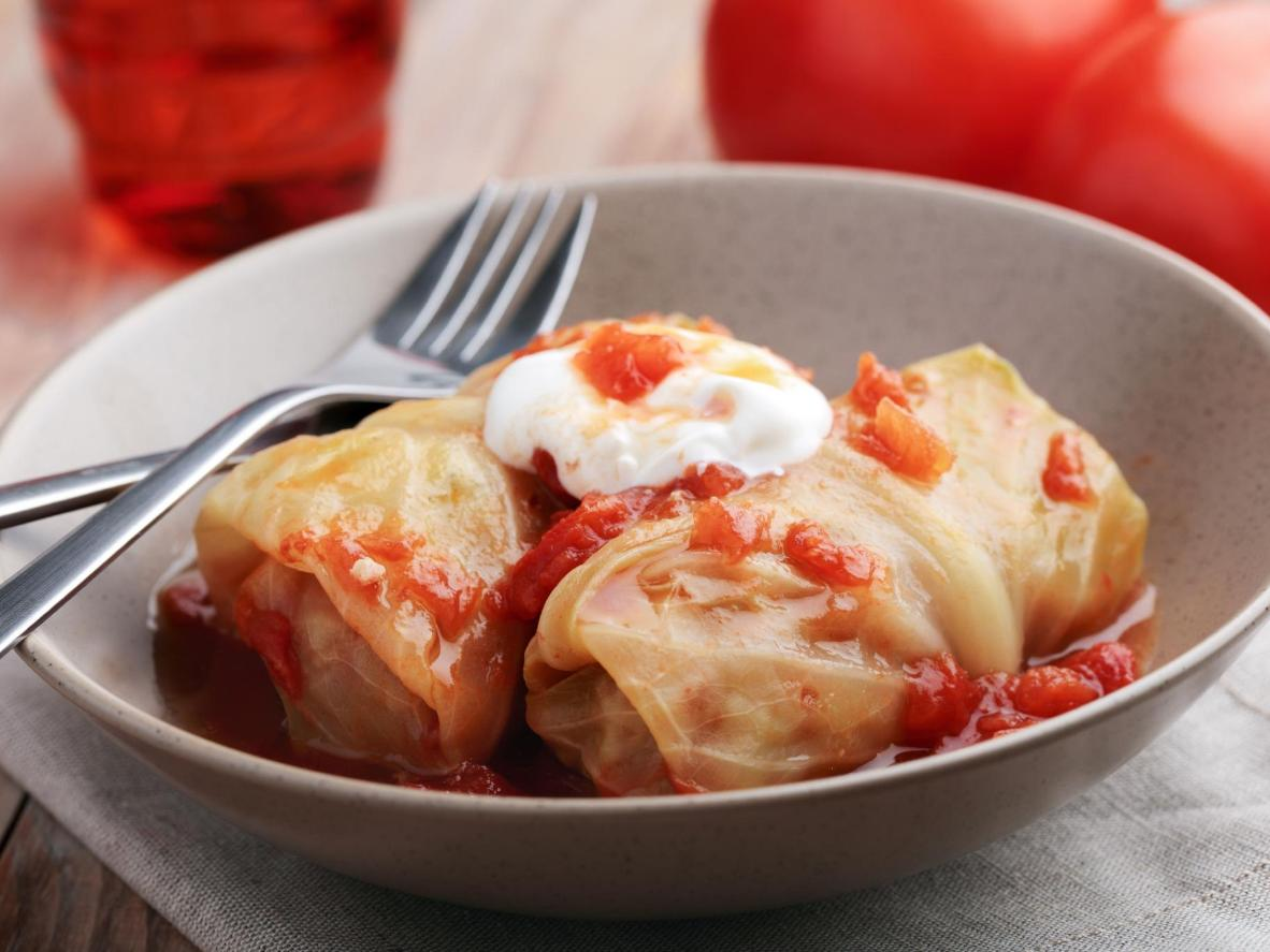 Stuffed cabbage, or töltött káposzta, is a Christmas delicacy in Hungary
