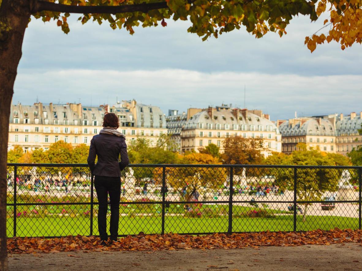 The ever-popular Tuileries Garden