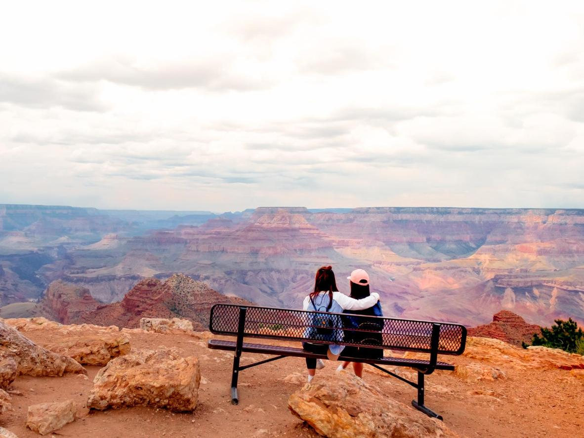 For a dramatic and passionate proposal, you can't beat the Grand Canyon as a backdrop