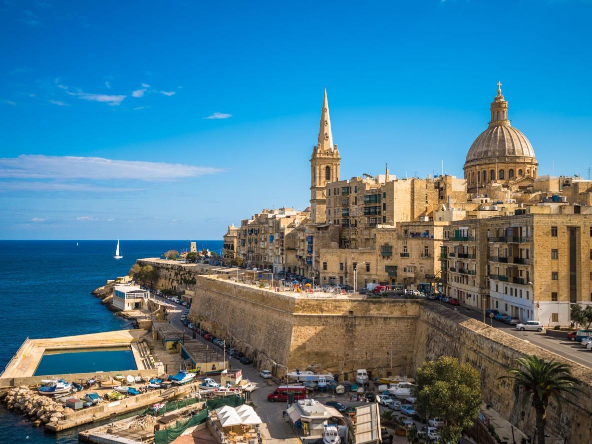 Es heißt der Frühling auf Malta ist die beste Jahreszeit der Insel