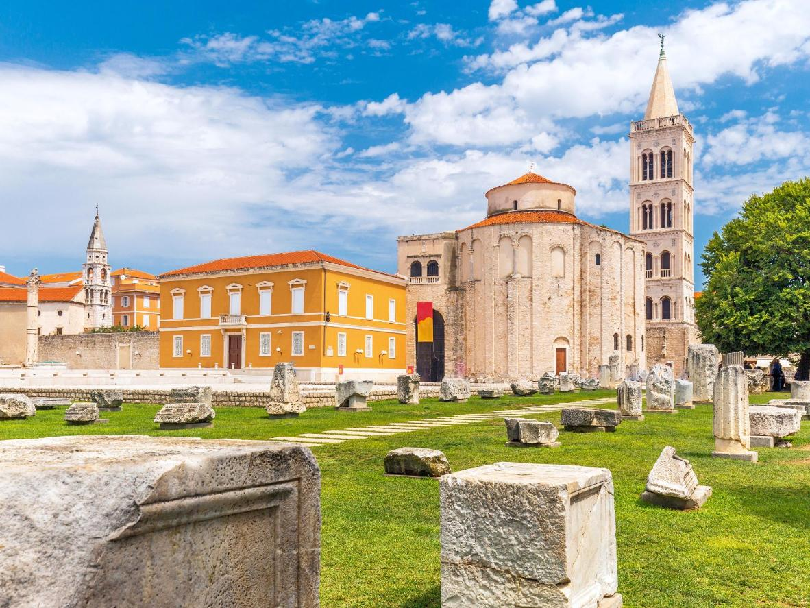 The Old Town in Zadar