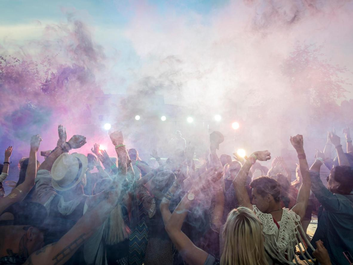 London hosts several kaleidoscopic Holi parties throughout the year