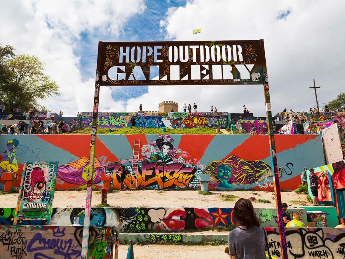 Photo by Ross Pirtle / Hope Outdoor Gallery