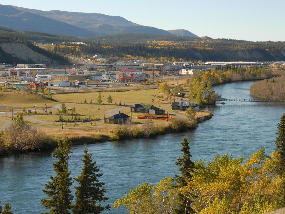 Most residents live in the capital city of Whitehorse, a former mining town