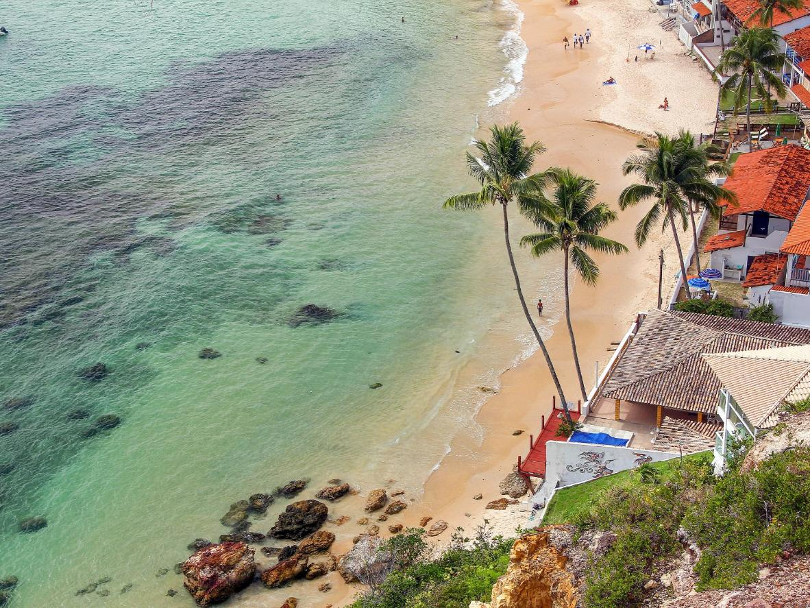March in Morro de São Paulo means sunshine and quiet beaches