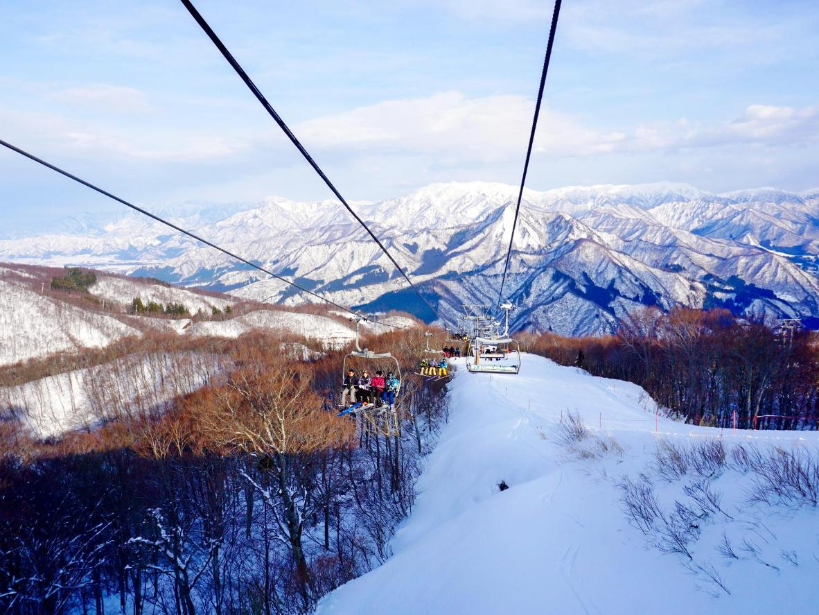 Yuzawa Snow Resort, near Tokyo