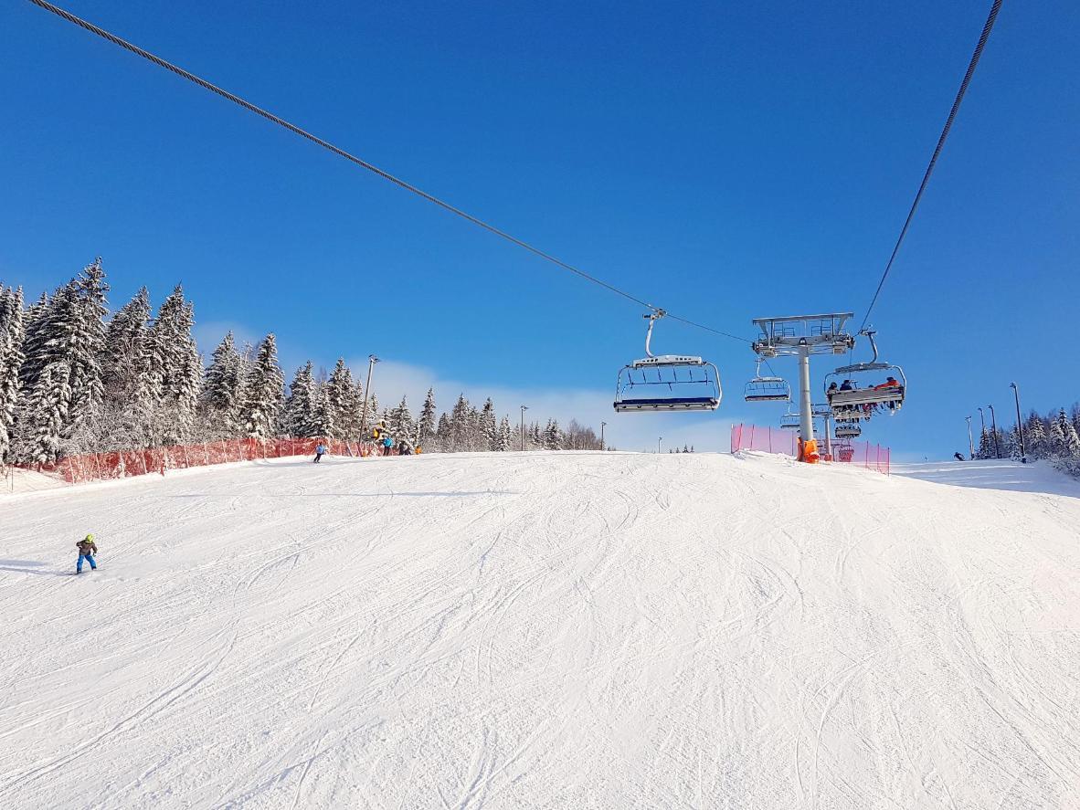 The Wyller ski slopes in Oslo