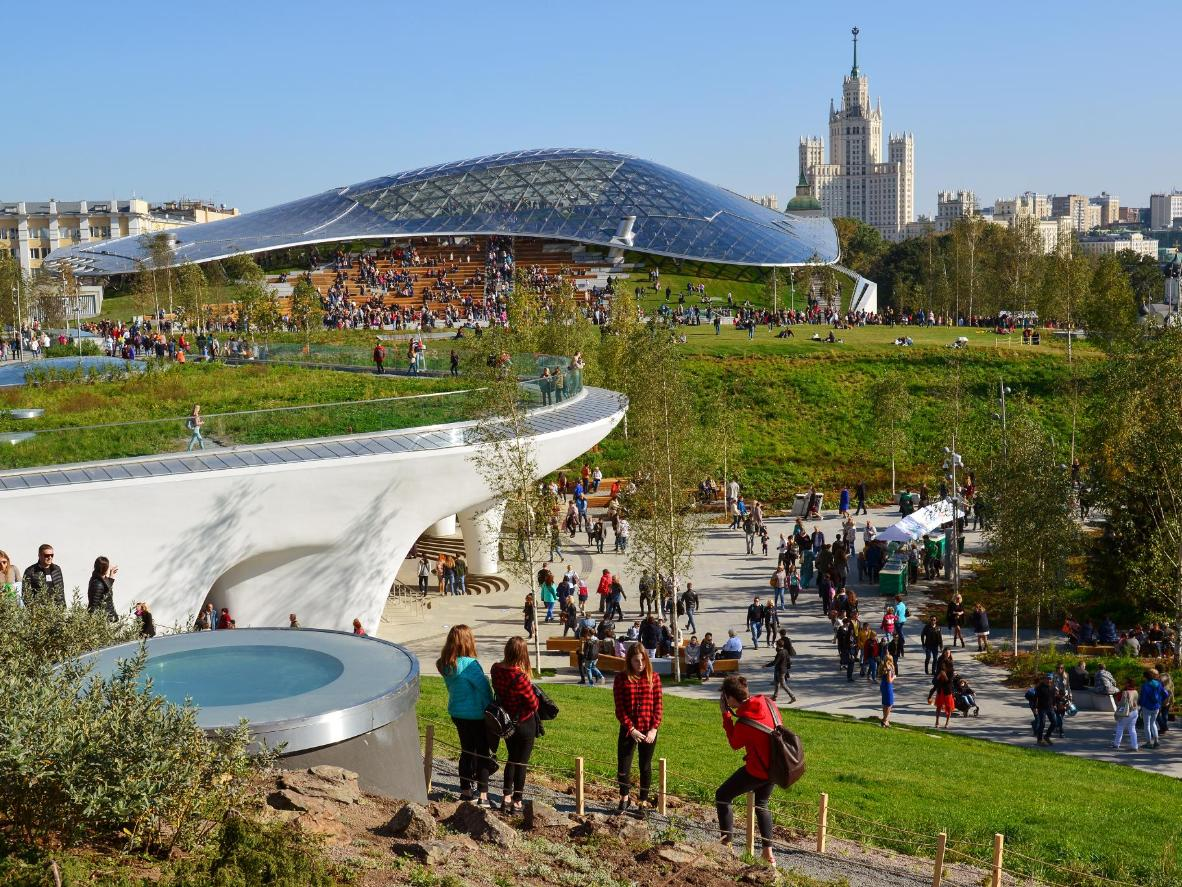 Zaryadye, Moscow's new landscape and architectural park
