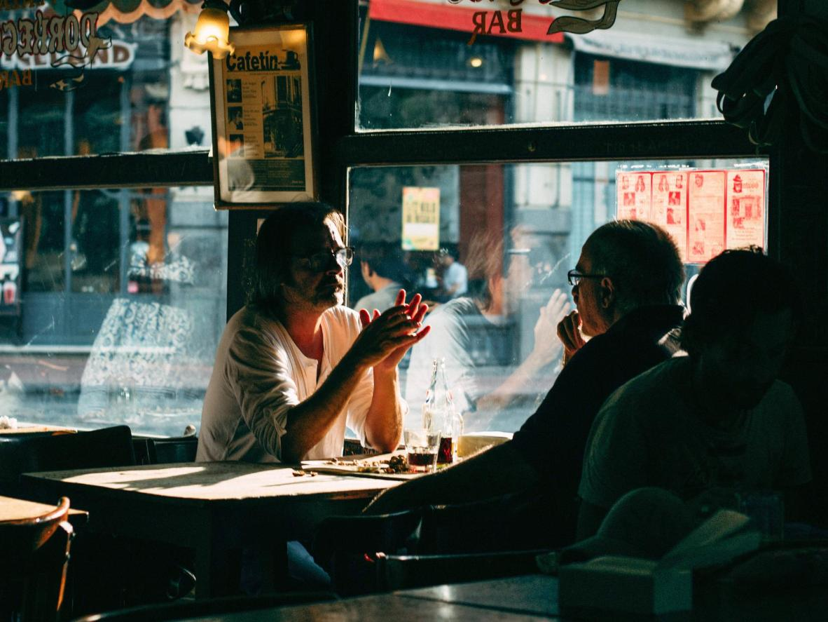 A story of lost love in the city's nightlife district