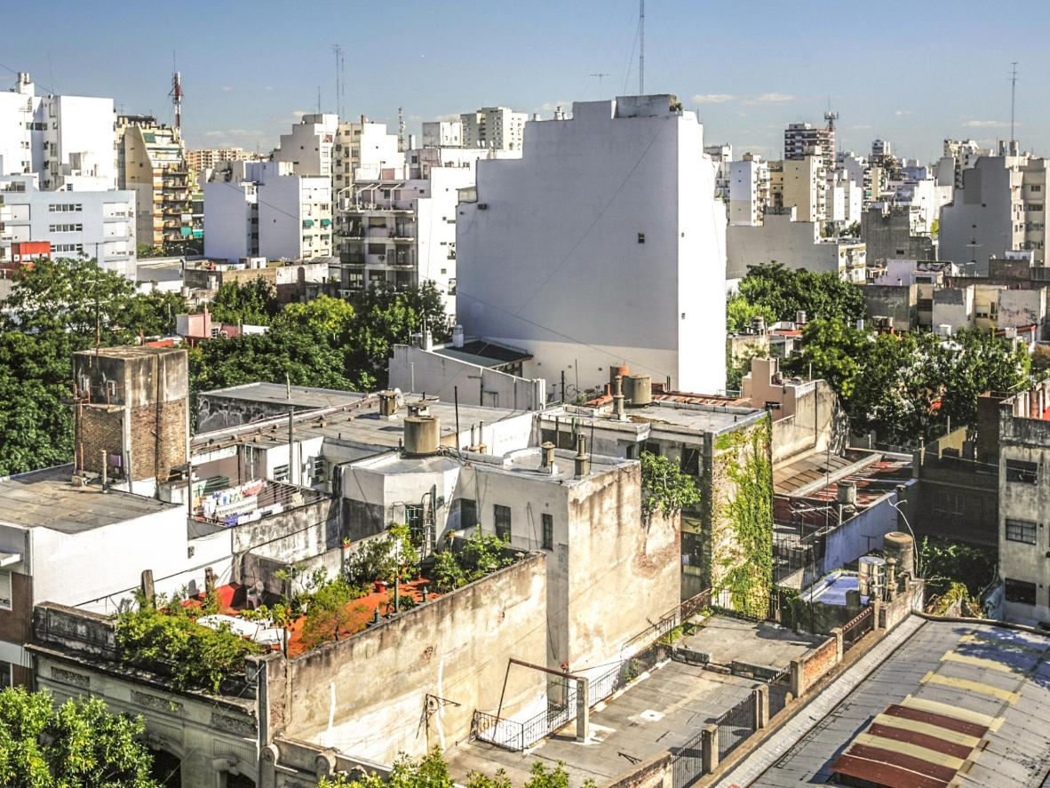 Rooftops in Buenos Aires