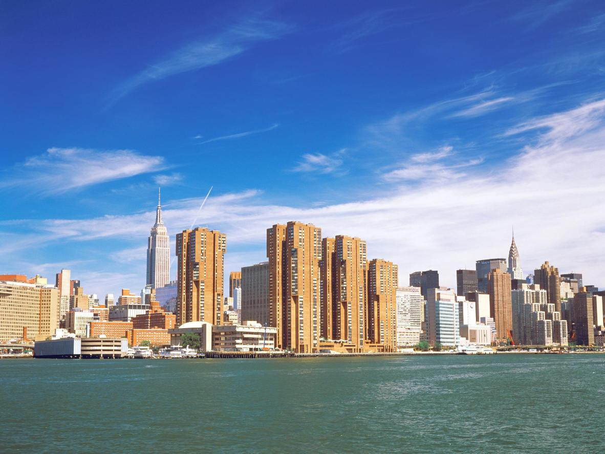 The best route for spotting famous NYC landmarks