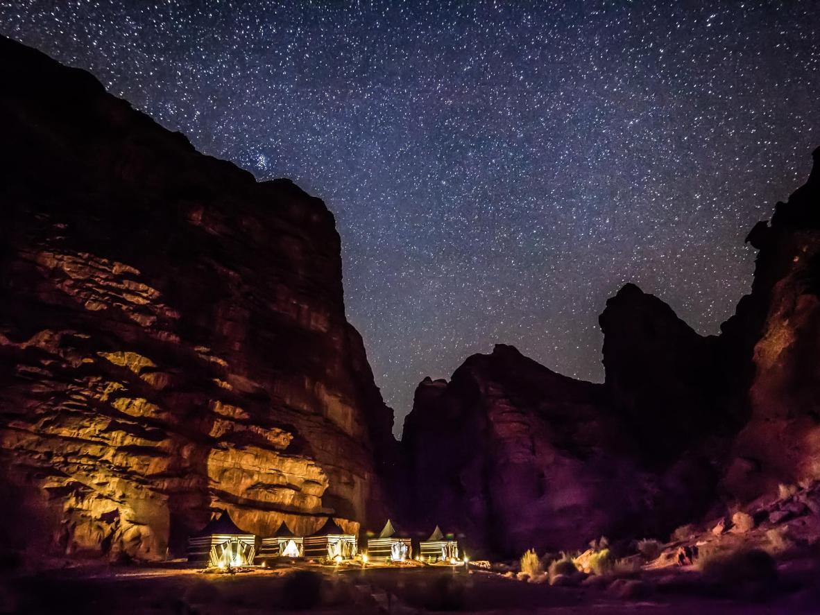 The Oasis Bedouin Camp in Wadi Rum