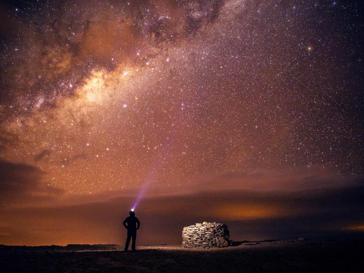 La Vía Láctea, parte de la reserva del cielo oscuro en Portugal