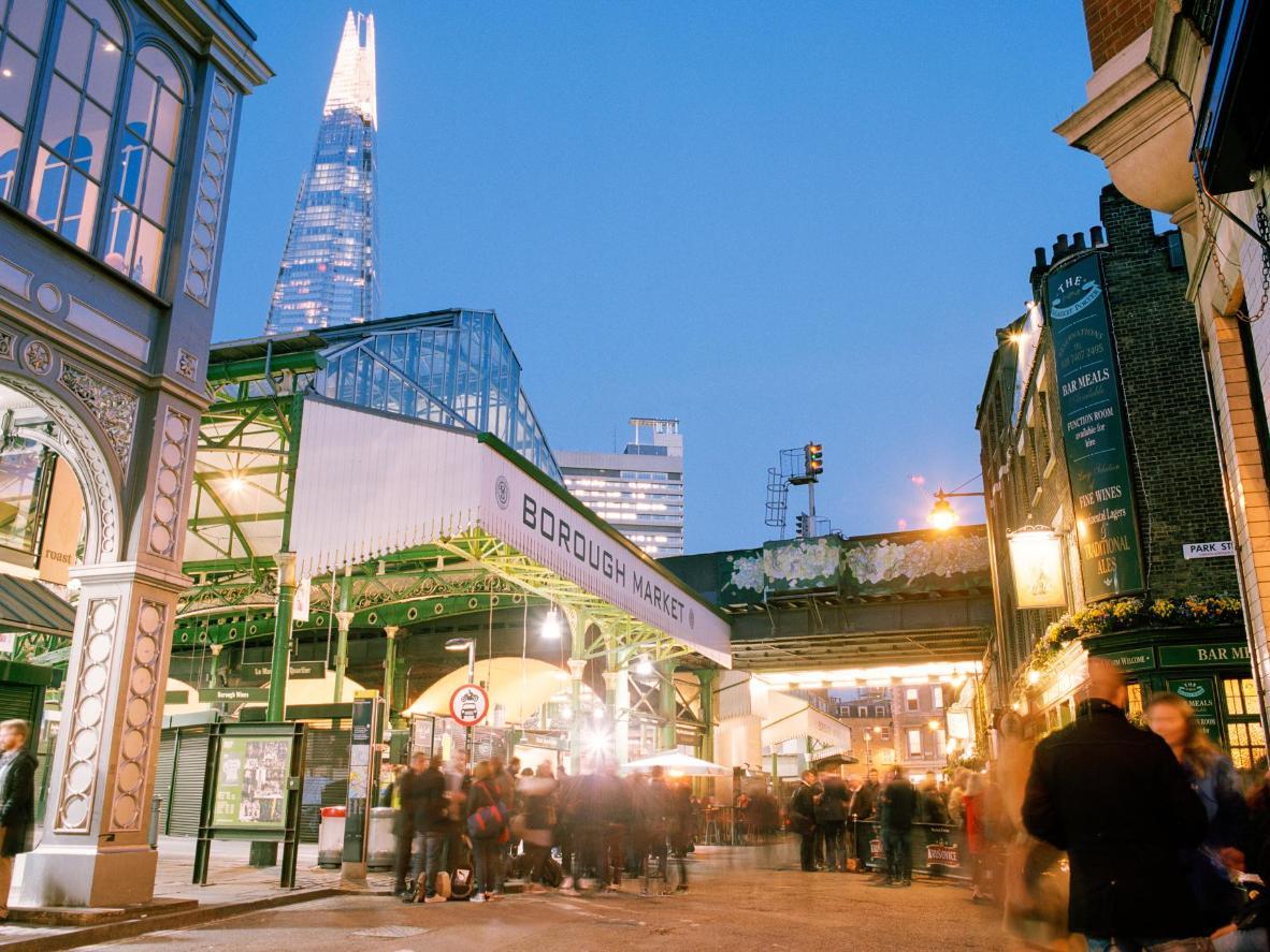 Southwark's Borough Market lleva operando desde el siglo XII