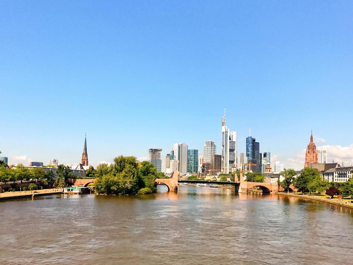 Frankfurt am Main waterfront