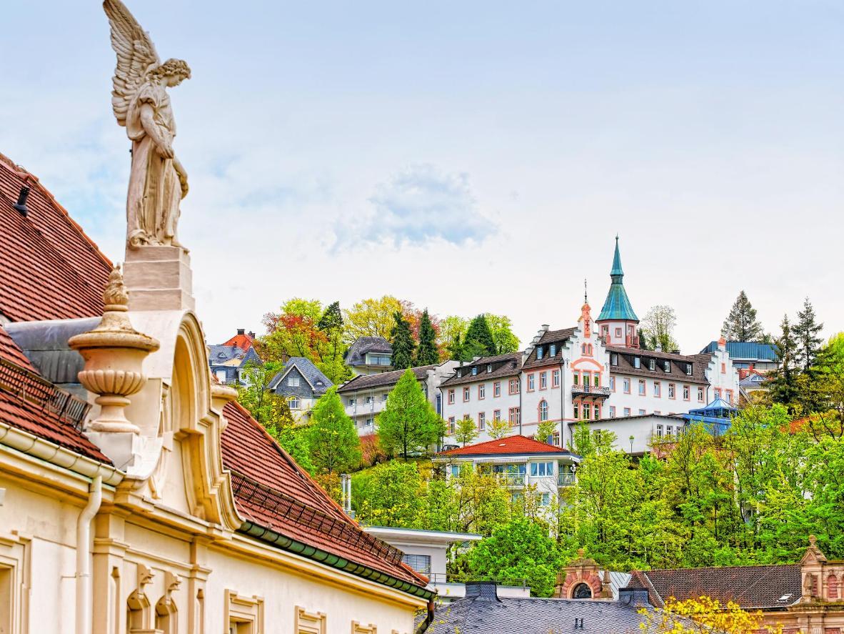 A German spa town, Baden Baden