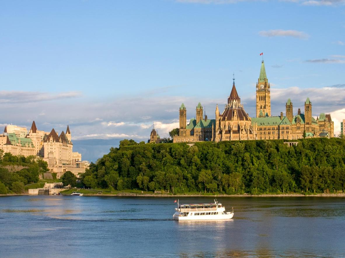 The Canadian Parliment in Ottawa