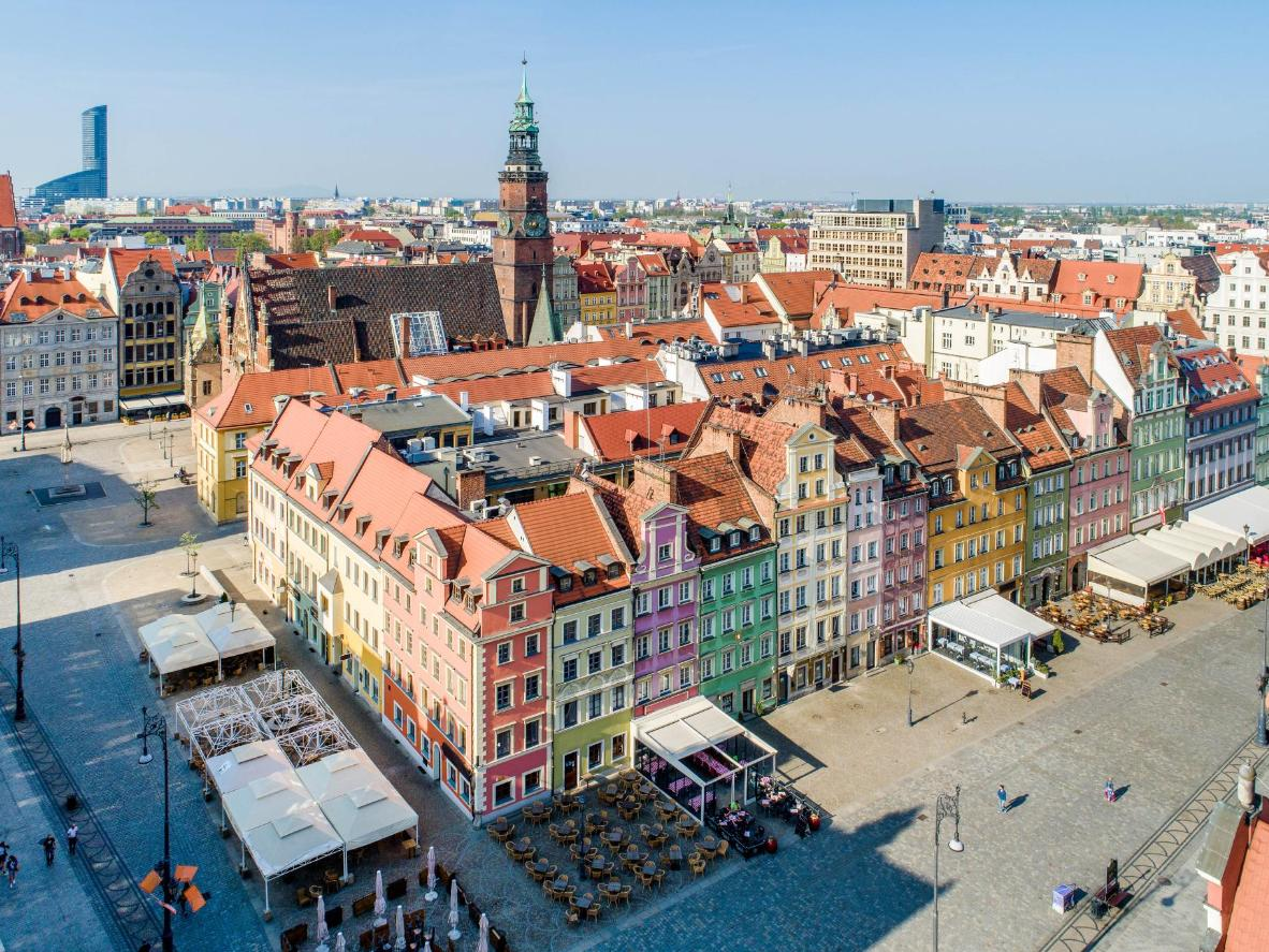 The Wroclaw Main Market Square