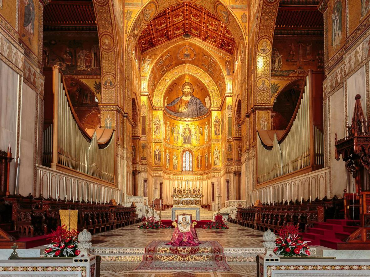 Cathedral of Monreale in Sicily