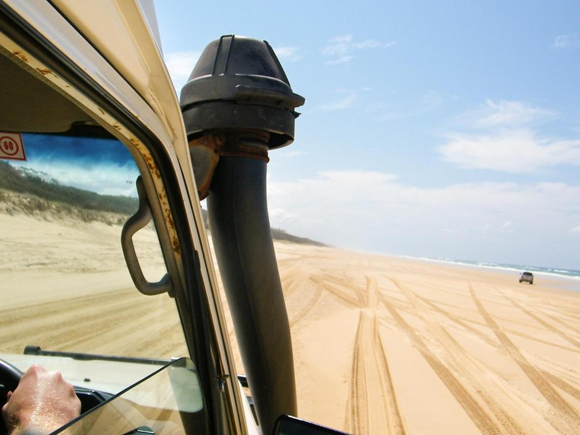 Glide along the sandy beaches – this time on four wheels