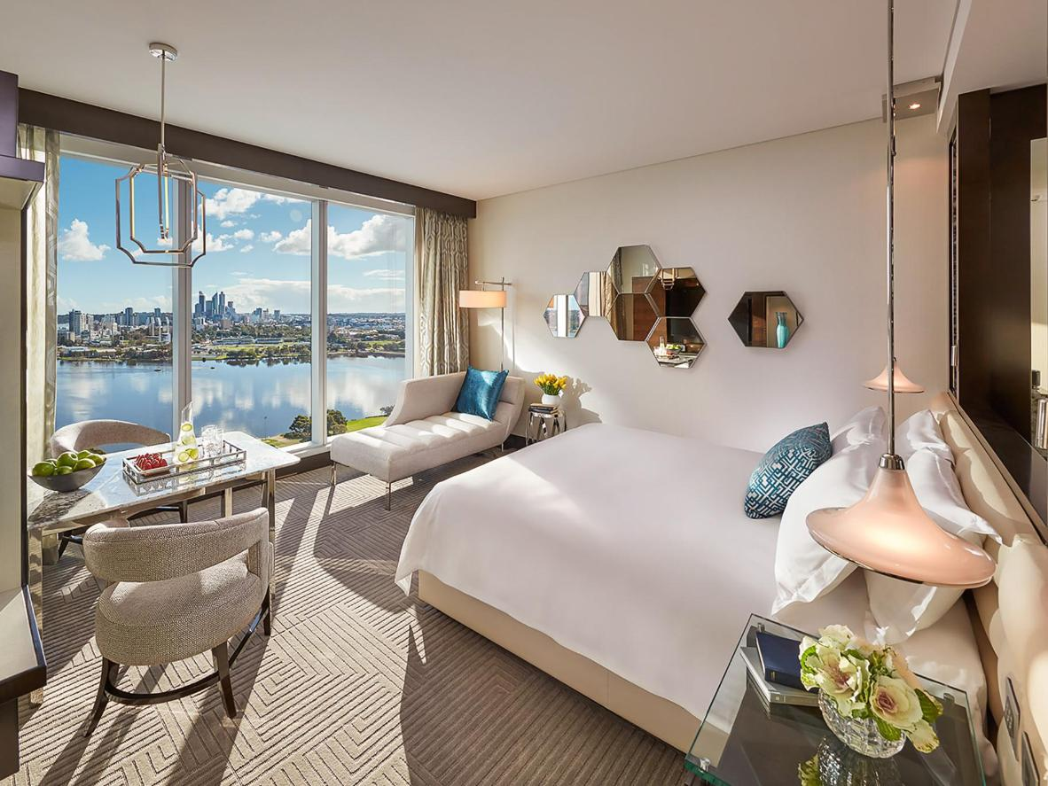 Wake up to the Perth cityscape at Crown Towers Perth