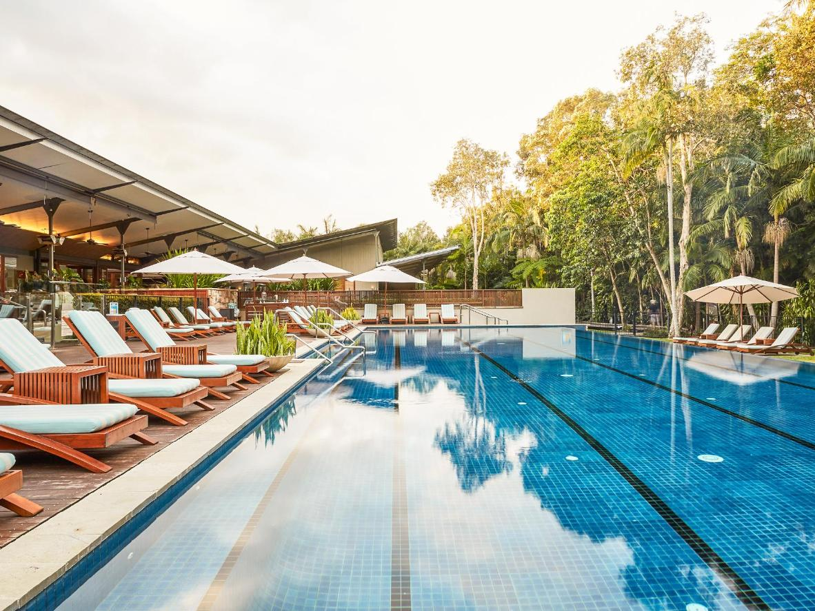 The Byron at Byron Resort and Spa has an infinity pool and an onsite spa