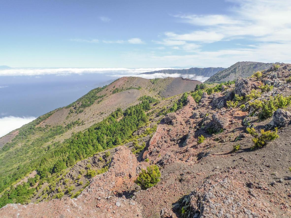 Lunar-like landscapes and Malpaso's soaring peaks are waiting on El Hierro