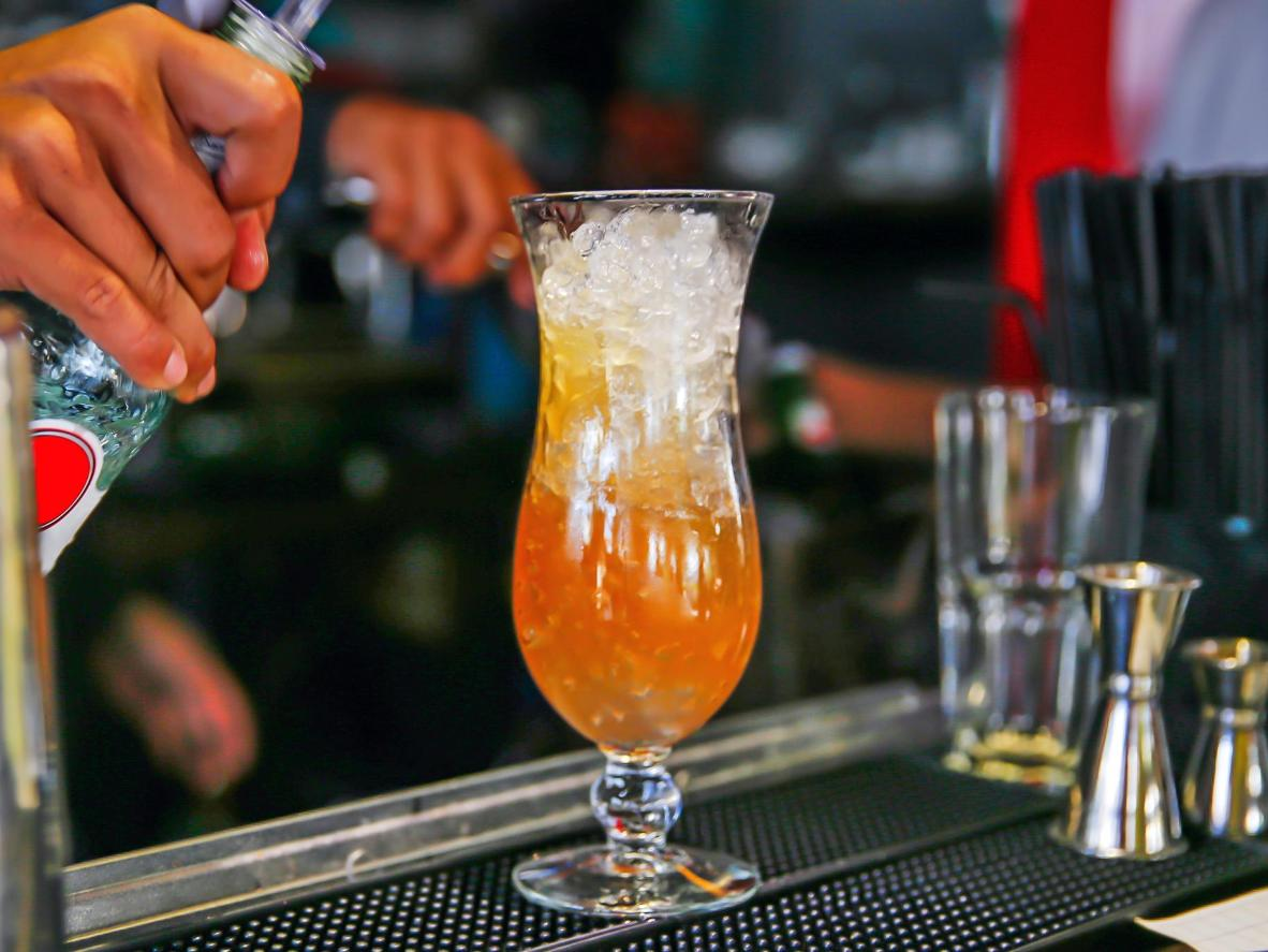 Try a Long Island Iced Tea at Melbourne's Rooftop Bar