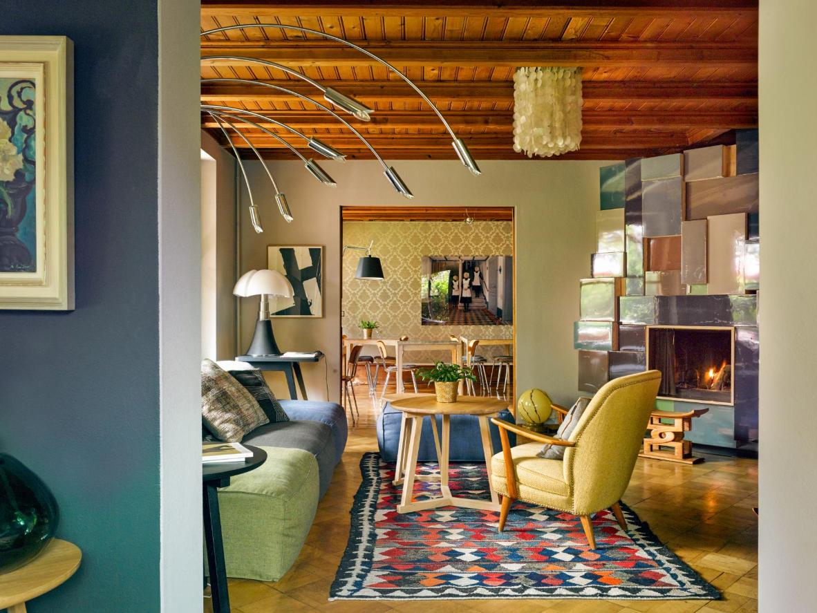 Spend a cozy weekend at this traditional-yet-utterly-luxurious guesthouse