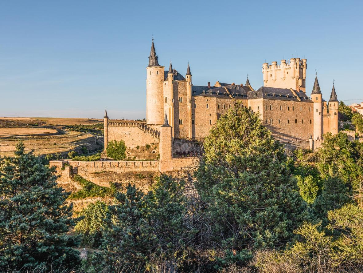 Alcázar castle is said to be the inspiration behind the Disneyland castle in California