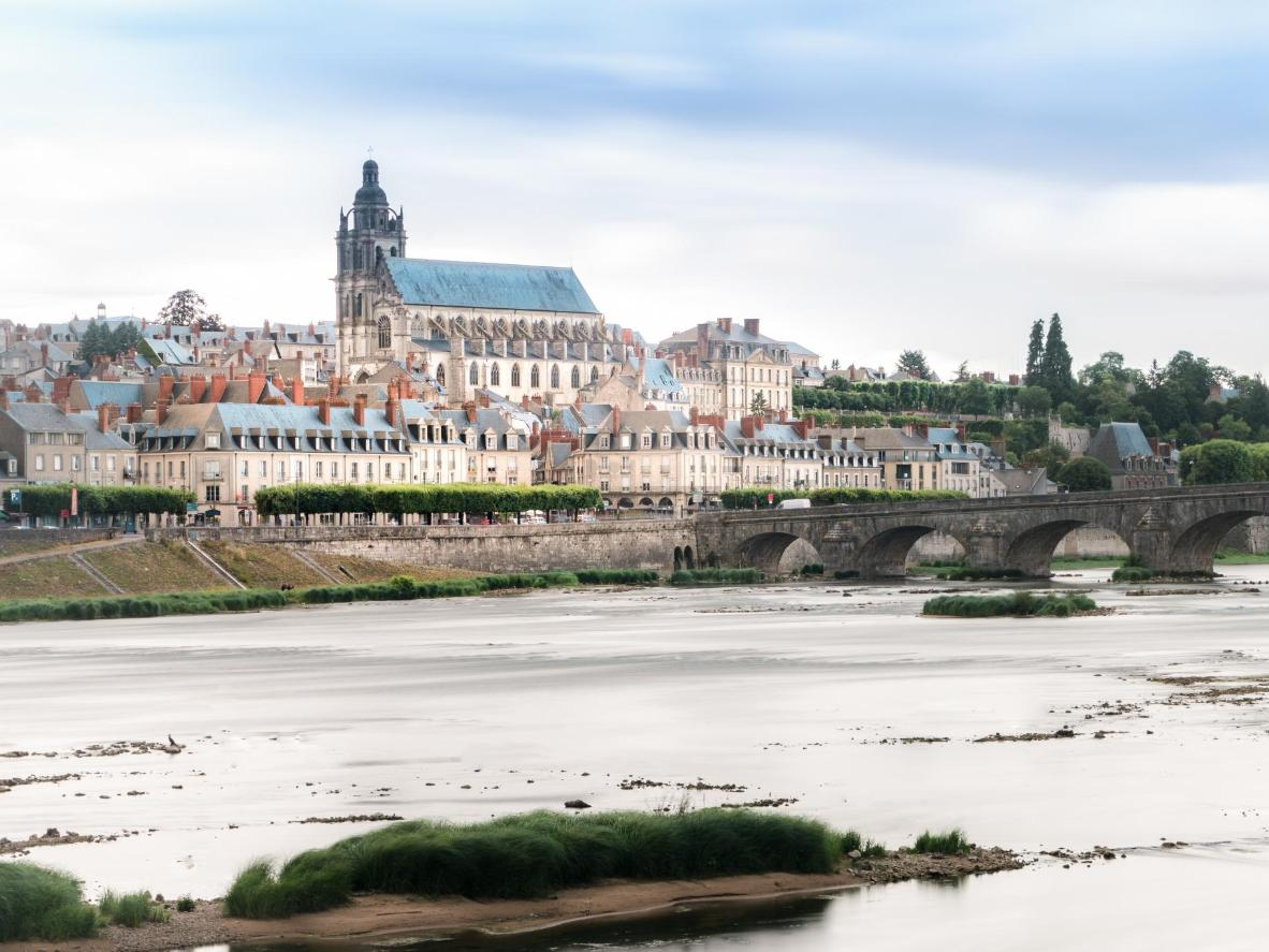 The Château Royal de Blois, on the banks of the Loire river, has been home to seven French kings