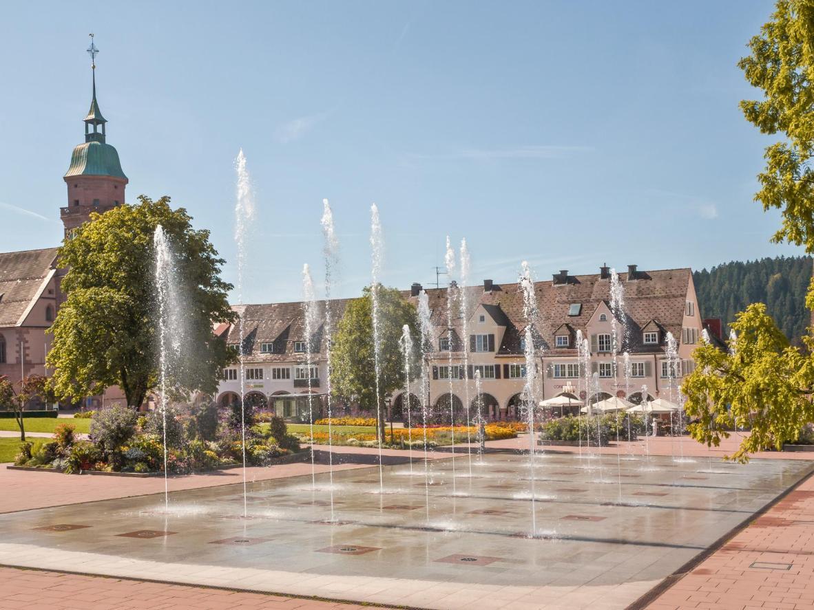 Make sure to wander around the Freudenstadt market square