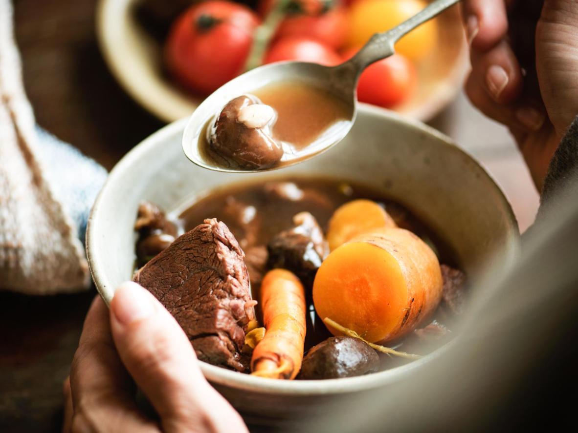 Bœuf à la bourguignonne is a warming winter dish