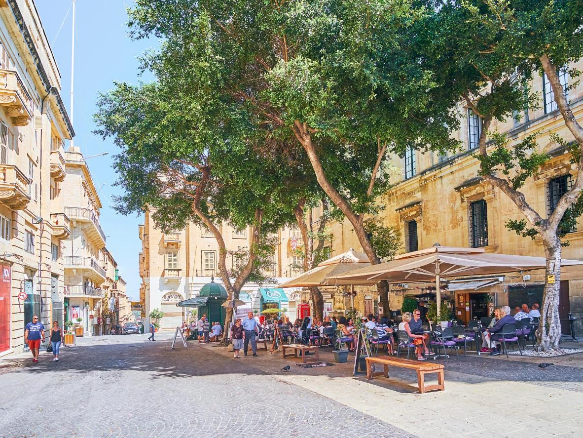 Malta is a combination of world-class restaurants and sun-drenched squares