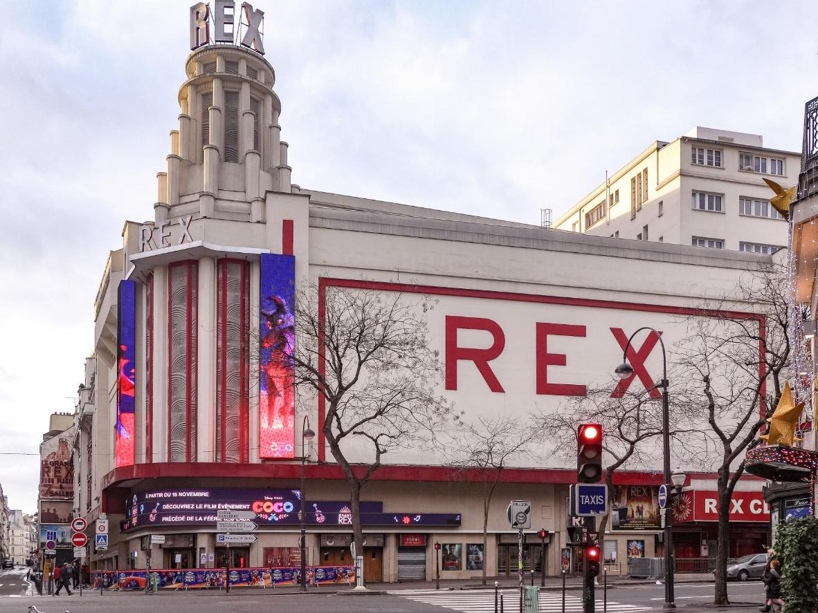 Le Grand Rex is one of Europe's biggest cinemas