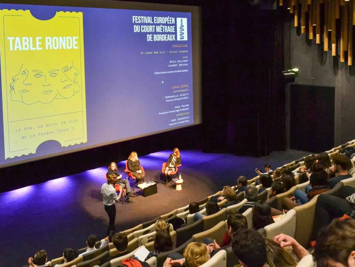 Bordeaux is home to the European Short Film Festival