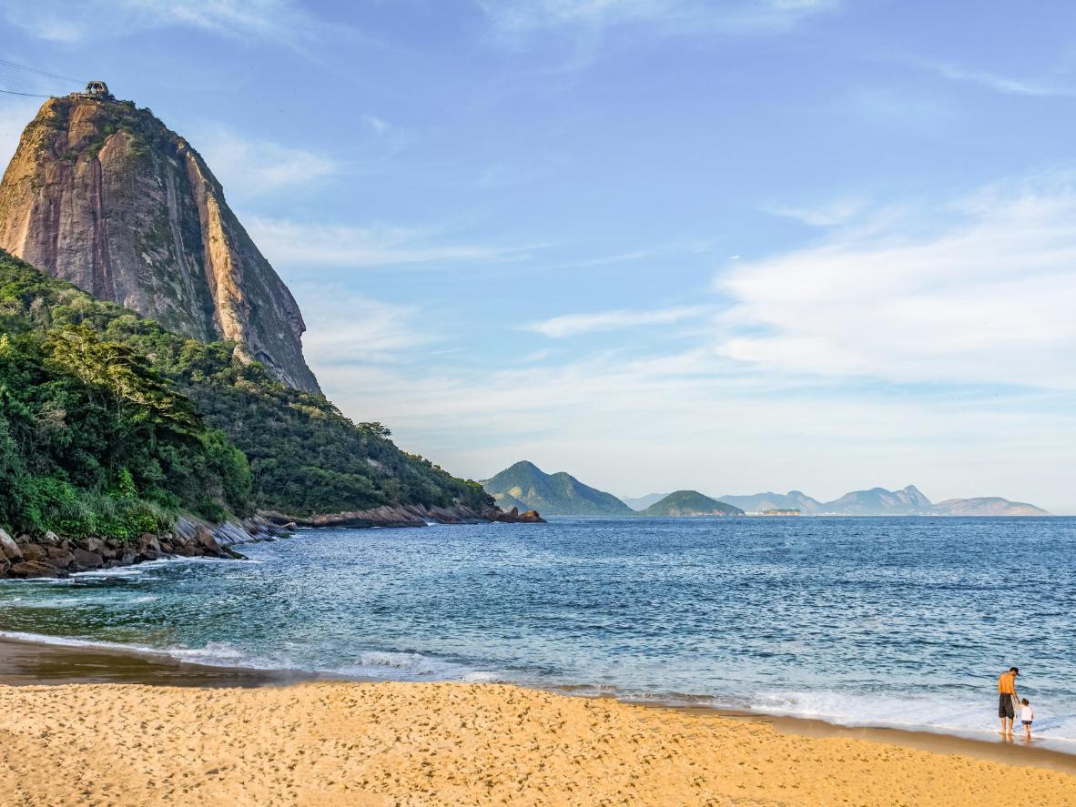 Una bella giornata di ottobre a Rio, lontano dalle folle del Carnevale