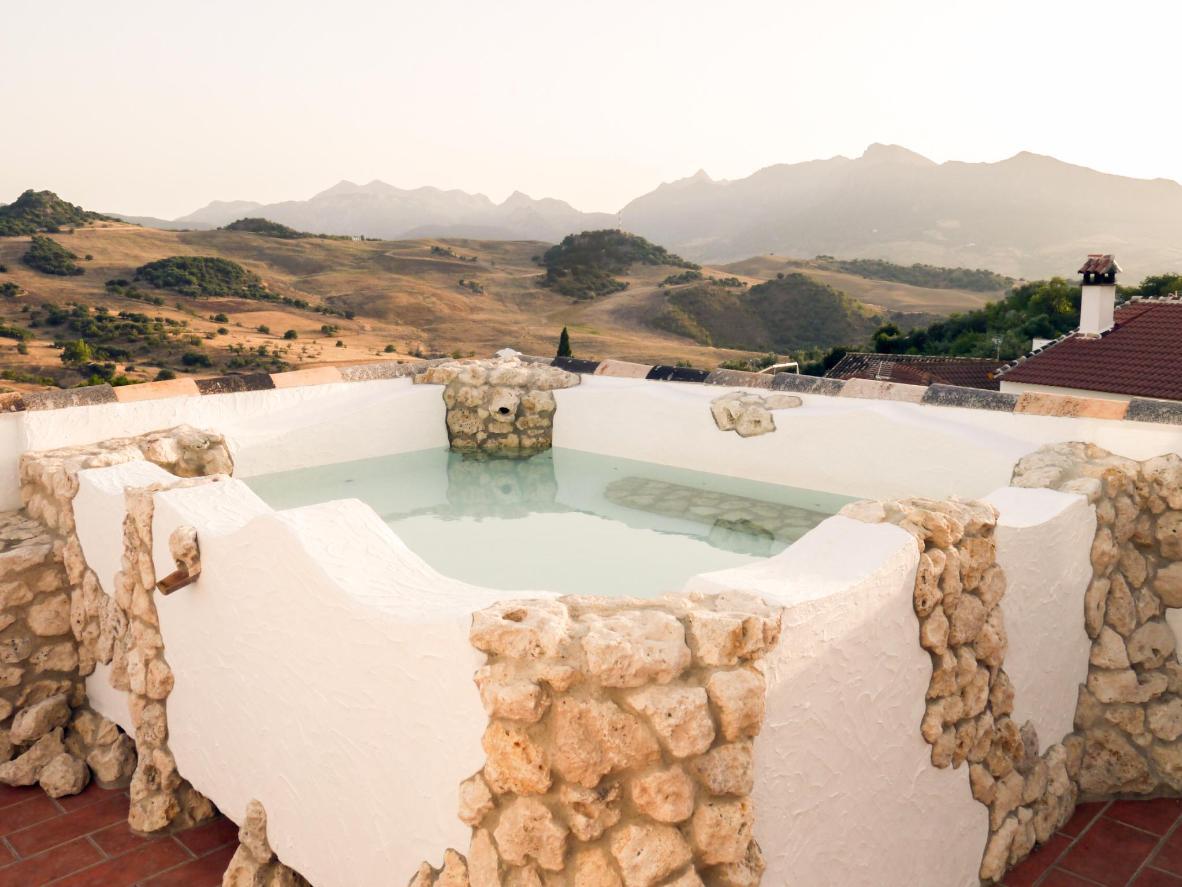 Dip into this rocky pool with views over sleepy Montecorto