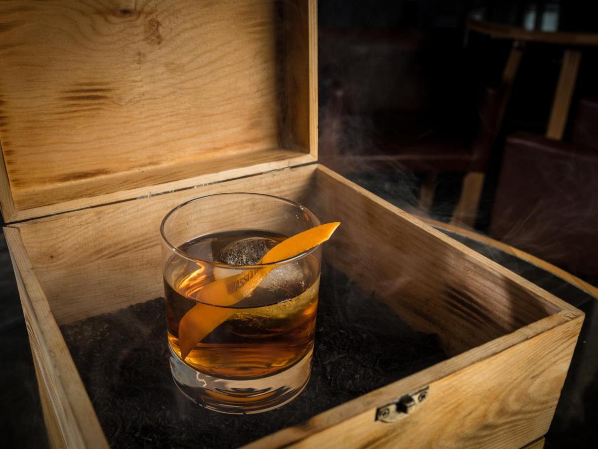 Espere que la presentación de la bebida sea tan especial como el sabor.