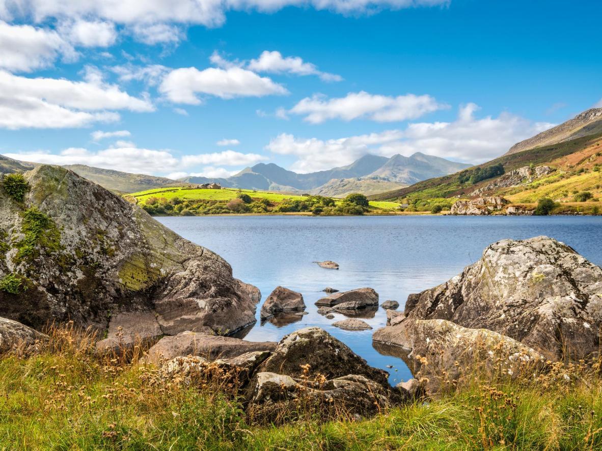 Der See Glaslyn steht seit jeher in Verbindung mit der König Artus Legende