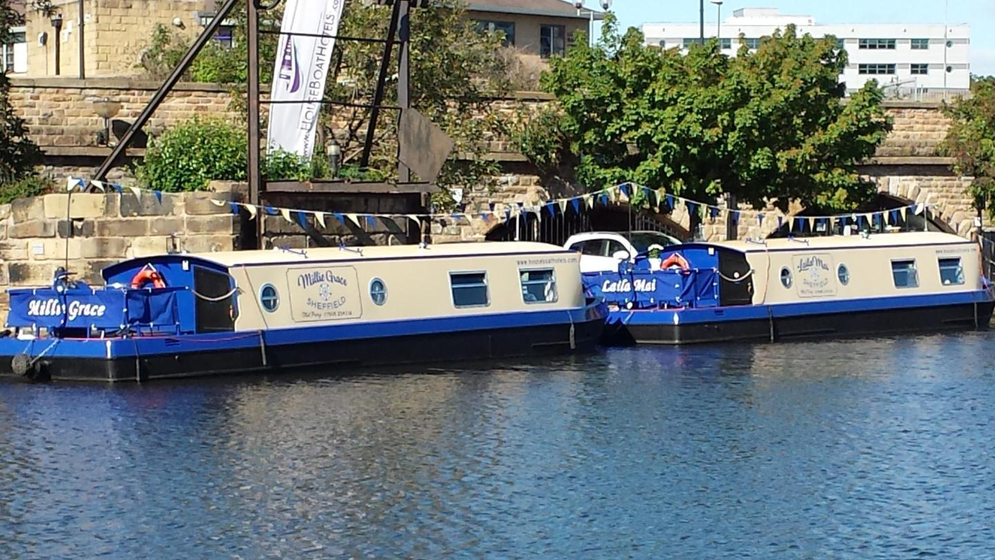 Sheffield's cosy houseboats are a memorable alternative to a typical hotel