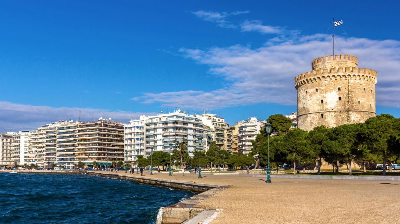 Despite the warm weather, Thessaloniki is quiet during the spring months