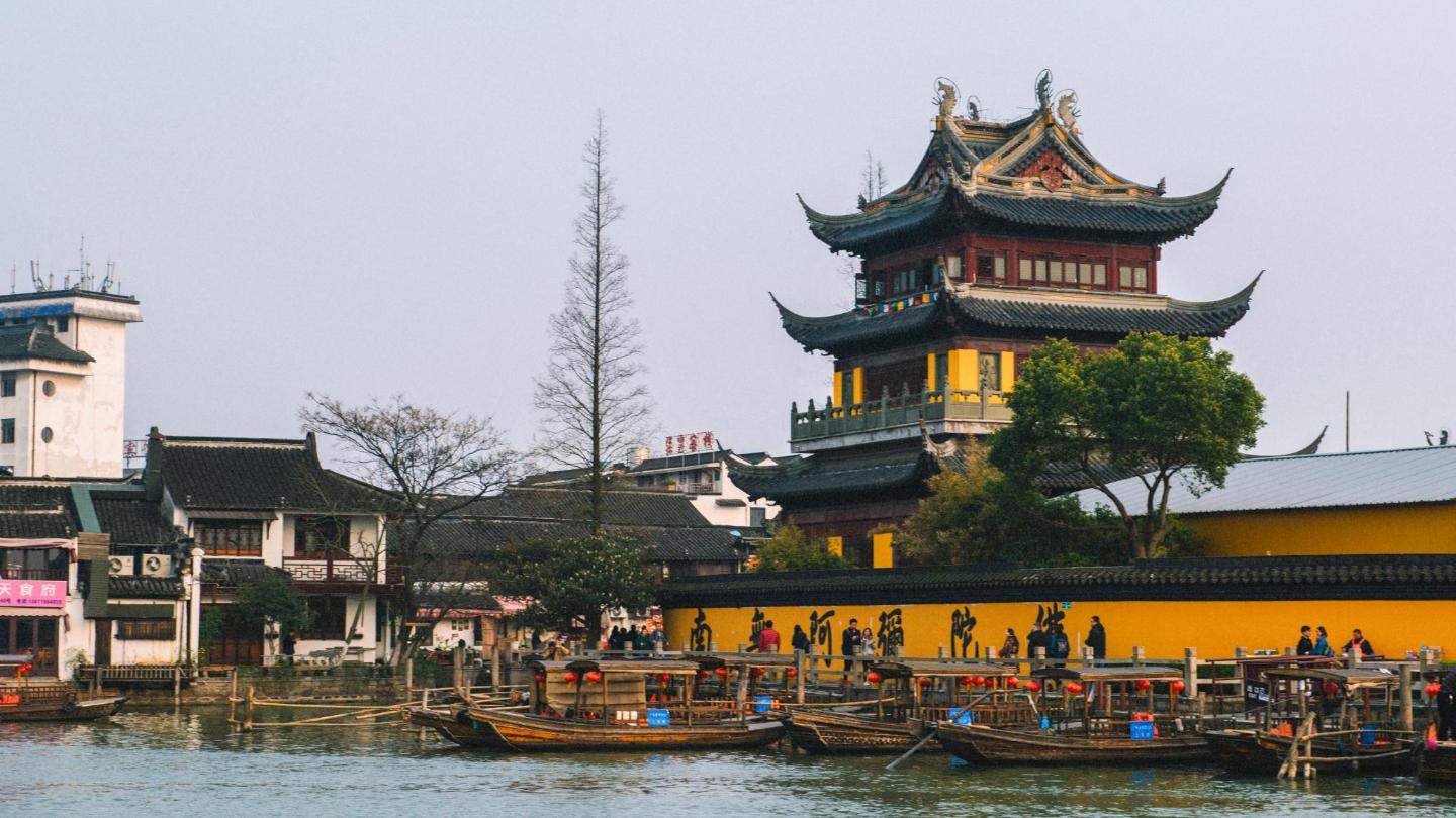 The ancient Yuanjin Temple Pagoda dates back to 1341