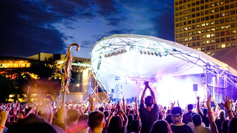The TD Ottawa Jazz Festival, photo taken by Chris Parker