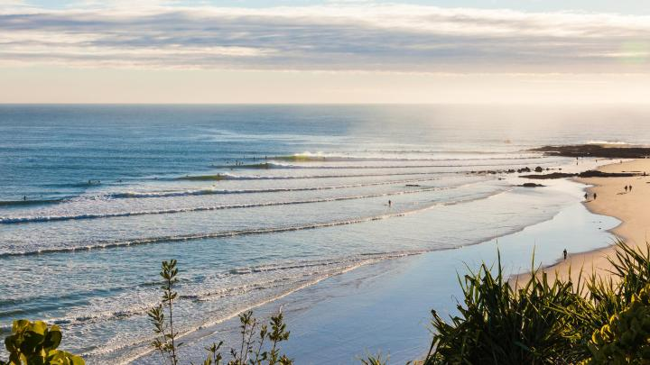 Find the best beaches in Gold Coast