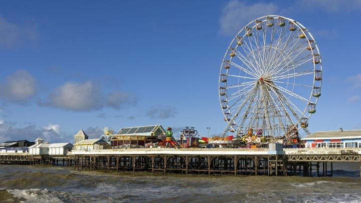 Encuentra el mejor lugar para los viajes en familia en Blackpool