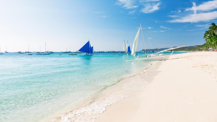 Encuentra el mejor lugar para los deportes acuáticos en Boracay