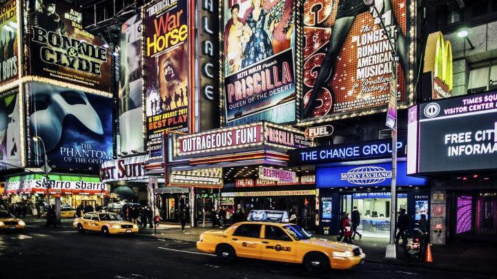 Encuentra el mejor lugar para el teatro en Nueva York