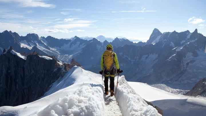 Encuentra el mejor lugar para la escalada en Chamonix Mont Blanc