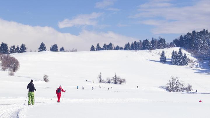 Encuentra el mejor lugar para el esquí de fondo en Ramsau am Dachstein